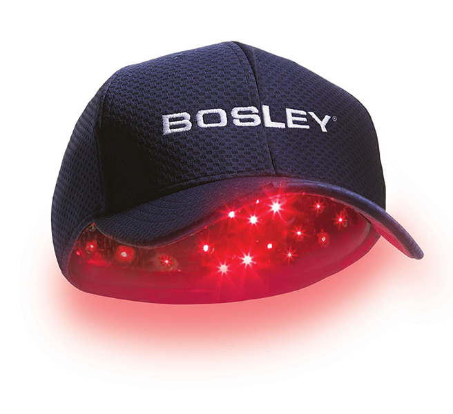Bosley Revitalizer Laser Hair Growth Therapy Cap Lllt 96 Fda Cleared Stimulate Hair Growth Regrow Add Density Get Thicker Fuller Hair Advanced Hair Loss Therapy Treatment Walmart Com Walmart Com