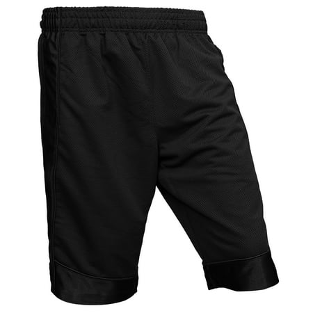 Ma Croix Pro Club Men's Heavyweight Basketball Mesh Shorts Activewear