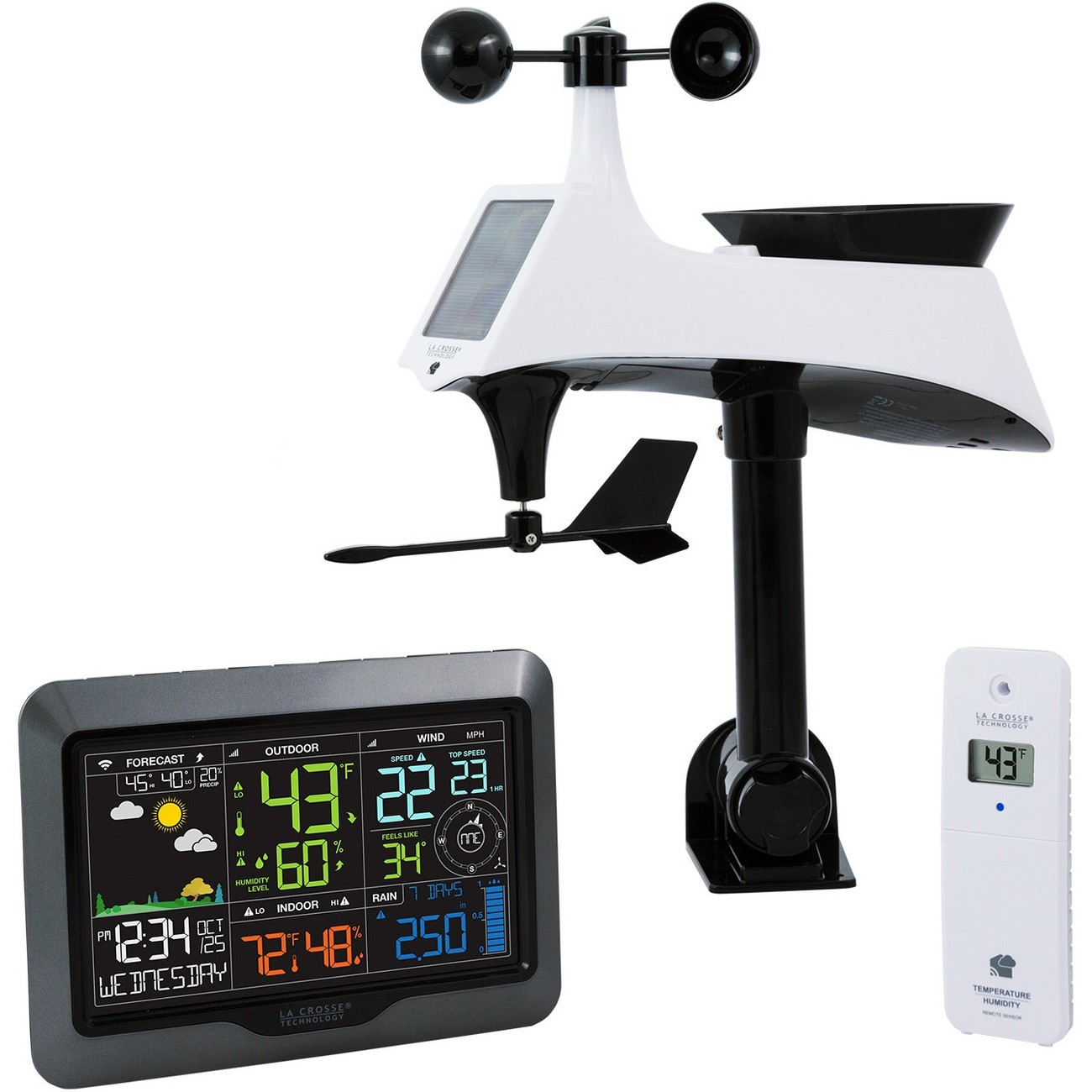 La Crosse Technology V40-PRO Professional Remote Monitoring Weather Station by La Crosse Technology