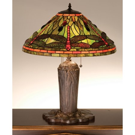 Meyda Tiffany Handkerchief (Meyda Tiffany 26680 Tiffany Three Light Table Lamp)