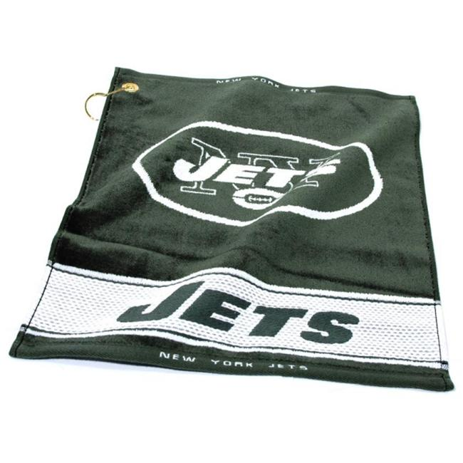 Team Golf 32080 New York Jets Woven Golf Towel
