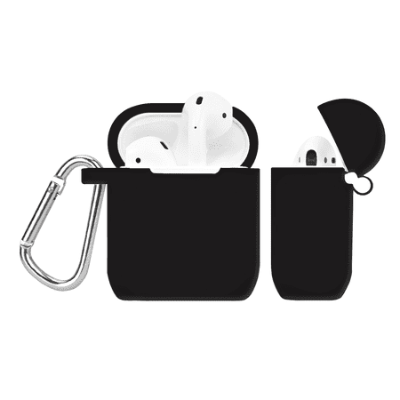 AirPods Case Cover - Protective Silicone Cover and Skin for Apple AirPods Charging Case - Black AirPods Case Cover