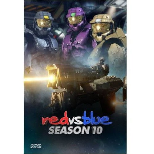 Red Vs. Blue: Season Ten (Blu-ray) (Full Frame)