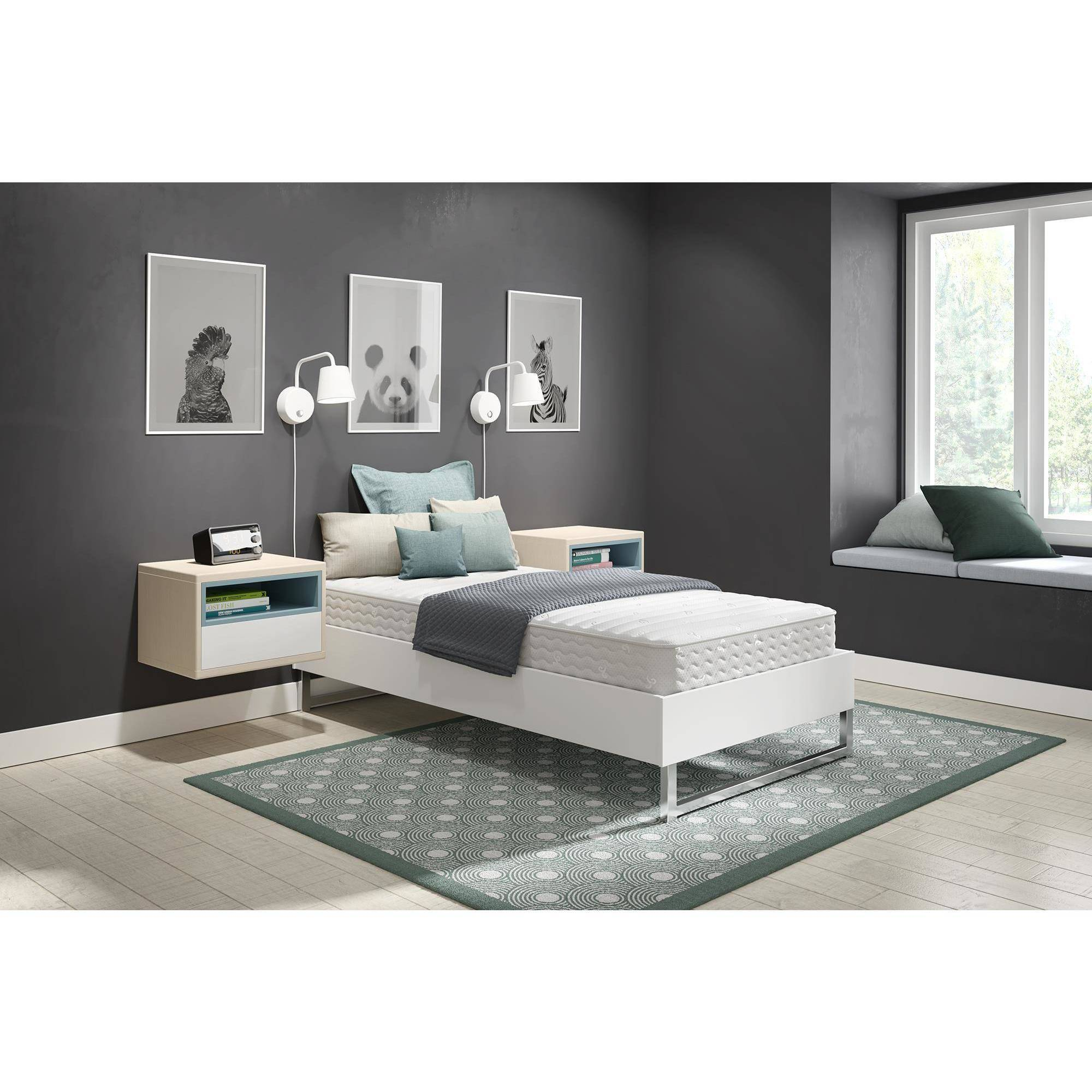 "Signature Sleep Contour- 8"" Independently-Encased Coil Mattress, Multiple Sizes"