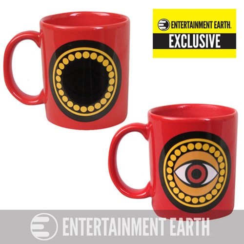 Doctor Strange Eye of Agamotto Amulet 11 oz. Heat Change Mug