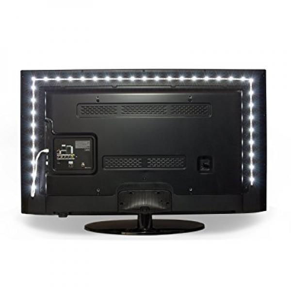 tv accent lighting. Megulla Bias TV Lighting Kit Accent/Ambient Precut USB LED RGB Strip Lights Tv Accent I