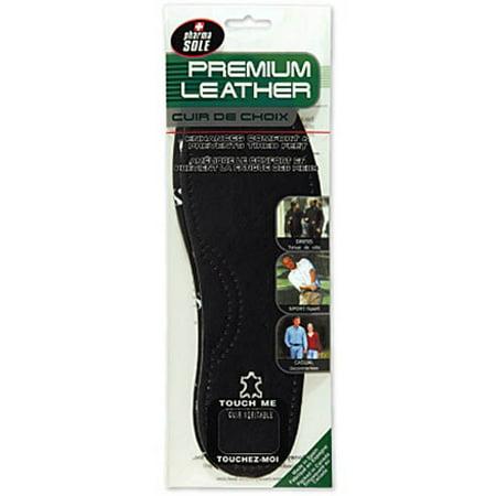 Black Leather Insole Women Size 8/9 Men 6/7