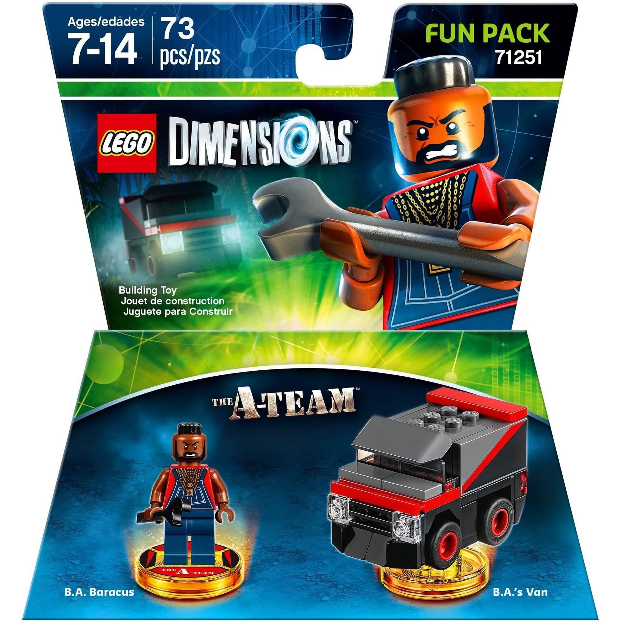 LEGO Dimensions 'A' Team Fun Pack