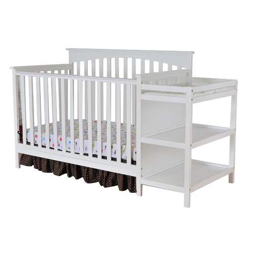 Dream On Me Chloe 5-in-1 Convertible 2 Piece Crib Set