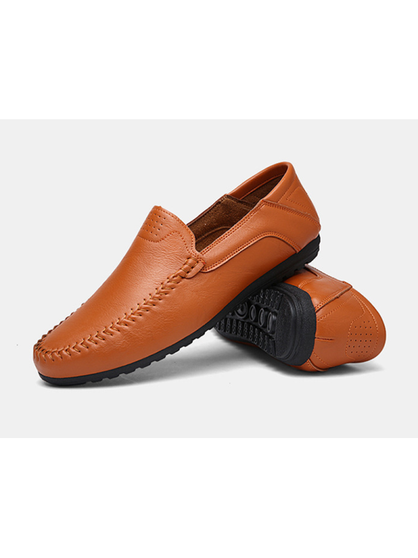 Fashion Men's Driving Moccasins Slip On Loafers Shoes Suede Leather Casual Boat
