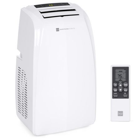 Best Choice Products 14,000 BTU 3-in-1 Portable Air Conditioner Cooling Unit for Up to 650 Sq. Ft Rooms w/ 4 Casters, Remote Control, Window Vent Kit, LED Display ()