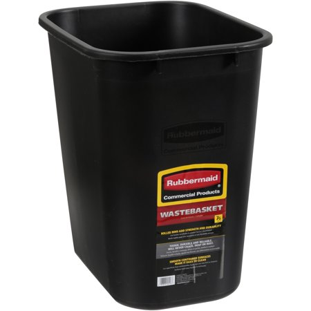 Rubbermaid® Commercial Products 7g - Modern Wastebasket