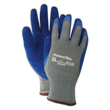 Ansell PowerFlex 80-100 Cut Resistant Knit Liner Gloves Size 9, 12 - Knit Cut Resistant Gloves