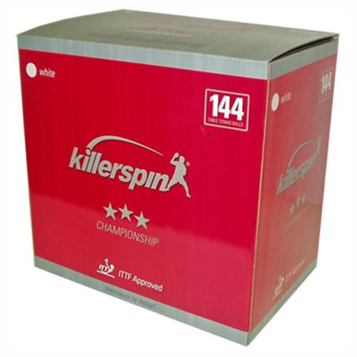 Killerspin Champion 144 Ct. Table Tennis Ball Box