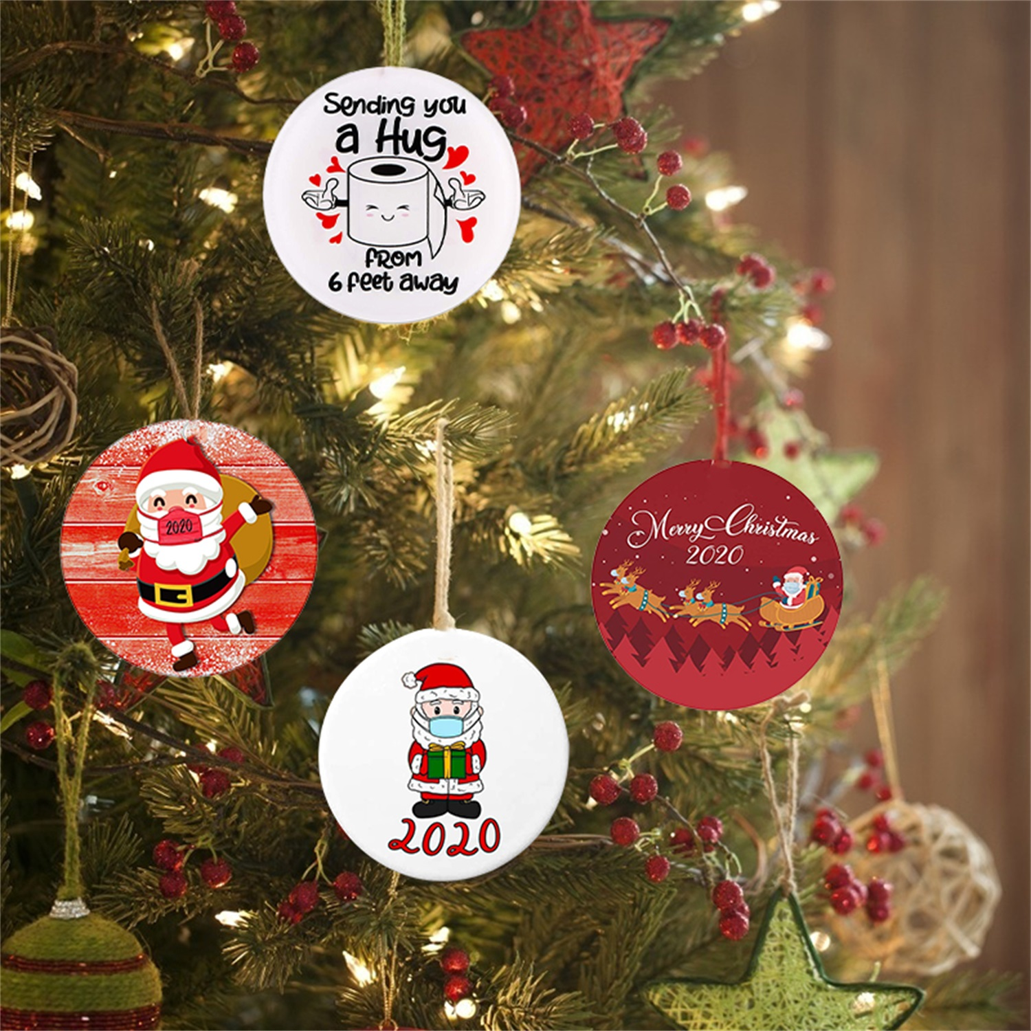 Christmas Ornaments-Xmas Tree-Holiday Decor. 2020 Annual Events Christmas Gifts