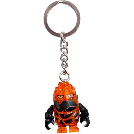 LEGO Power Miners 852862 Rock Monsters Firax Key Chain - Lego Key Chains