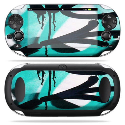 Protective Vinyl Skin Decal cover for Sony PS Vita Playstation Graffiti Tagz