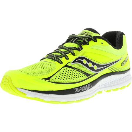 b290e2ec8295 Saucony - Saucony Men s Guide 10 Lime   Black Citron Ankle-High ...
