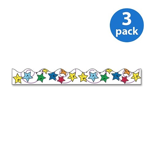 (3 Pack) Bordette, PAC37900, Decorative Border, 1 / Pack, Assorted
