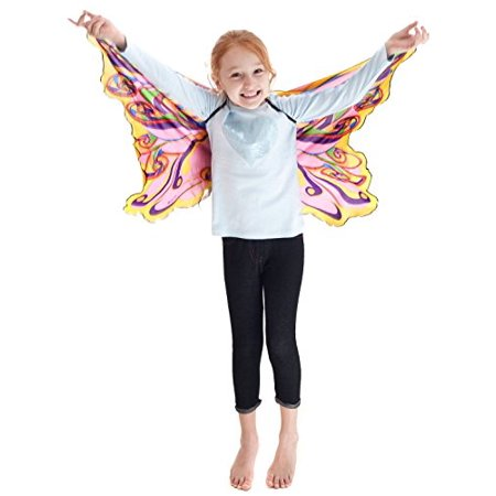 Rainbow Fairy Wings with Glitter - Fairy Wings For Girls