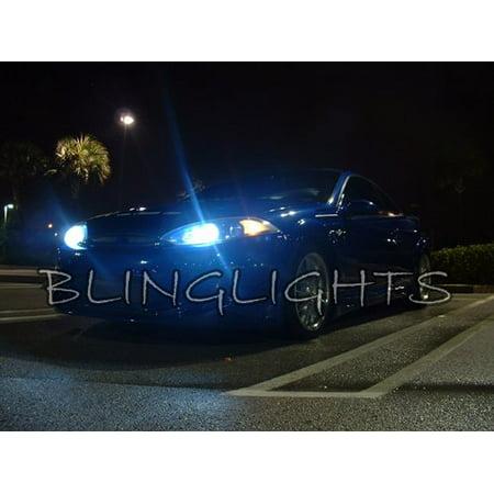 95 Mercury Cougar Headlight - 1999 2000 2001 2002 Mercury Cougar White Bulbs for Headlamps Headlights Head Lamps Lights