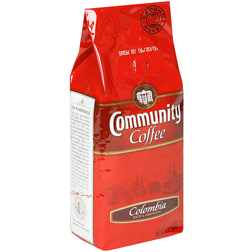 Community Coffee Colombia Classico Ground Coffee, 12 oz (Pack of 6)