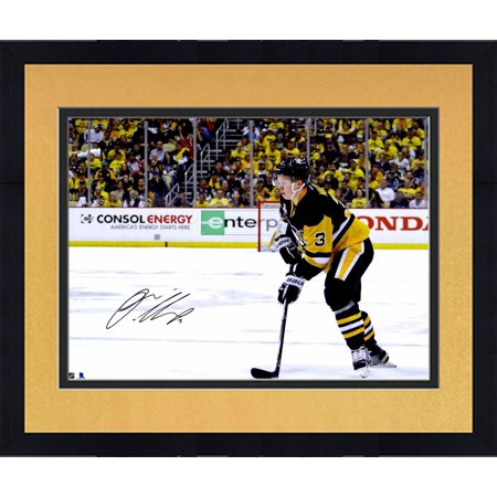 Framed Olli Maatta Pittsburgh Penguins 2016 Stanley Cup Champions  Autographed 8