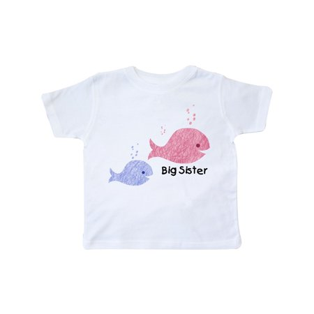 Big Sister with Lil' Brother Toddler T-Shirt