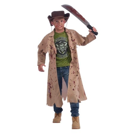 Kids Zombie Hunter Costume](Beth The Bounty Hunter Halloween Costumes)