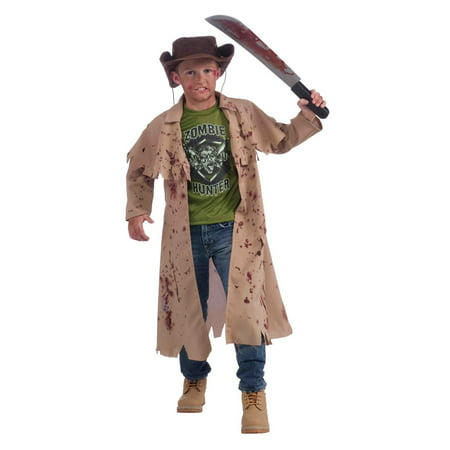 Plants V Zombies Costumes (Kids Zombie Hunter Costume)