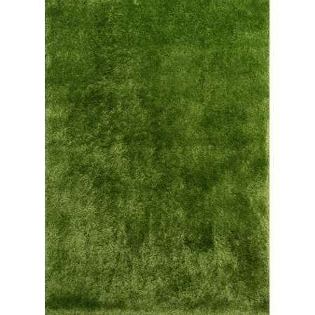 United Weavers Bliss Area Rugs - 2300 00124 Shag & Flokati Green Thick Soft Plush Comfortable Rug ()