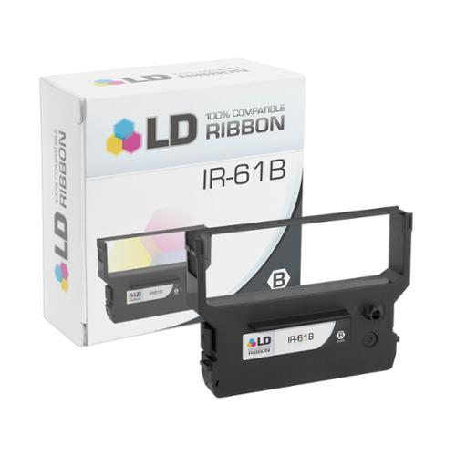 LD Compatible Citizen IR-61B Black Printer Ribbon Cartridge