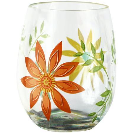 Green Wine Glasses (Corelle Coordinates Happy Days, 16oz Acrylic Wine Glass Set of)
