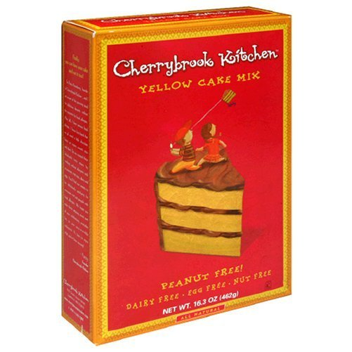 Cherrybrook Kitchen Yellow Cake Mix 16 3 Ounce Box Pack