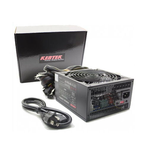 1000 Watt 1000W 140mm Fan ATX Power Supply 12V 2.3 EPS12V 2.92 Quad SLI-ready PCI-Express SATA 20/24
