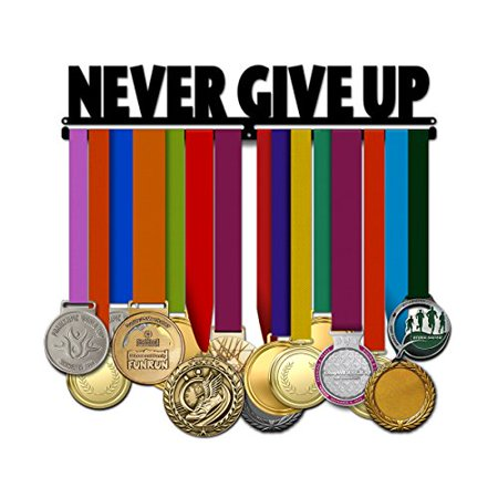 Believe&Train Never Give Up - Motivational Medal Hanger - image 1 de 1