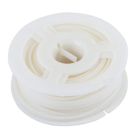 BB-B01 Bundle Boss Replacement Spool, 39 ft Belt, 50 lb, Nylon Cable Tie Replacement, Electrical Wire and Cord Management, Natural White, N/a By Gardner