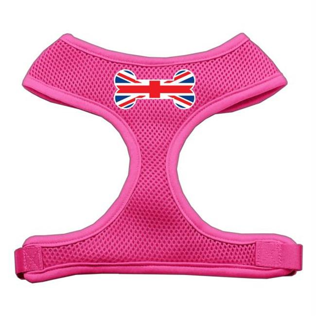 Bone Flag Uk Screen Print Soft Mesh Harness Pink Extra Large - image 1 of 1