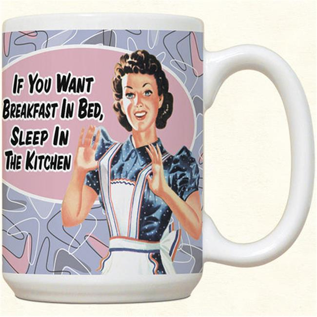 Fiddlers Elbow c517 Breakfast In Bed Mug, Pack Of 2