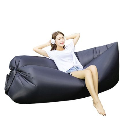 Portable Sofa Inflatable Sleeping Bag Beach Hangout Lazy Air Bed - Blow Up Noisemakers