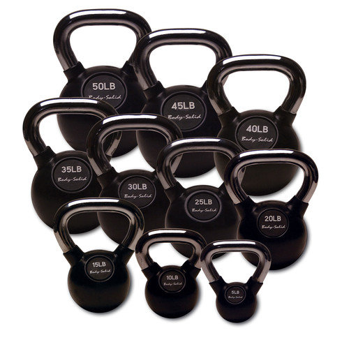 Body Solid Kettlebell (Set of 10)