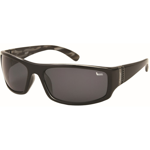Coleman CC1 Black Polarized Sport Sunglass