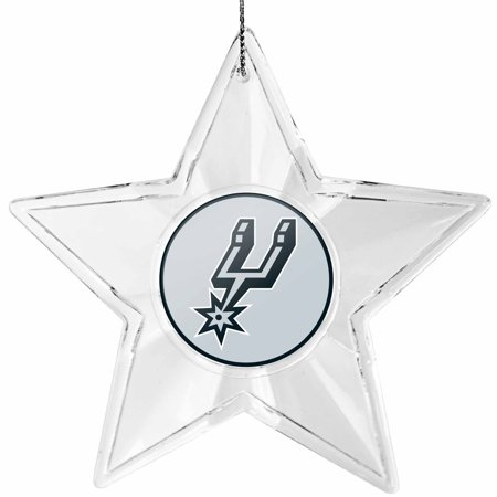 San Antonio Spurs Star Ornament - No Size
