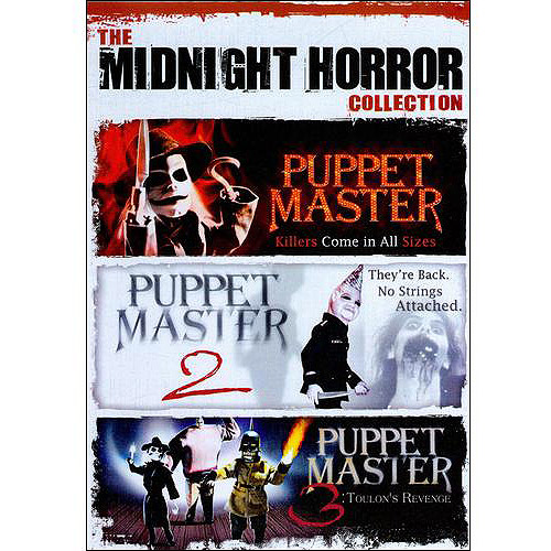 The Midnight Horror Collection: Puppet Master / Puppet Master II / Puppet Master III: Toulon's Revenge