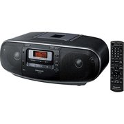 Panaso RXD55GCK Boombox - High Power Mp3 Cd Am-Fm Radio Cassette Recorder