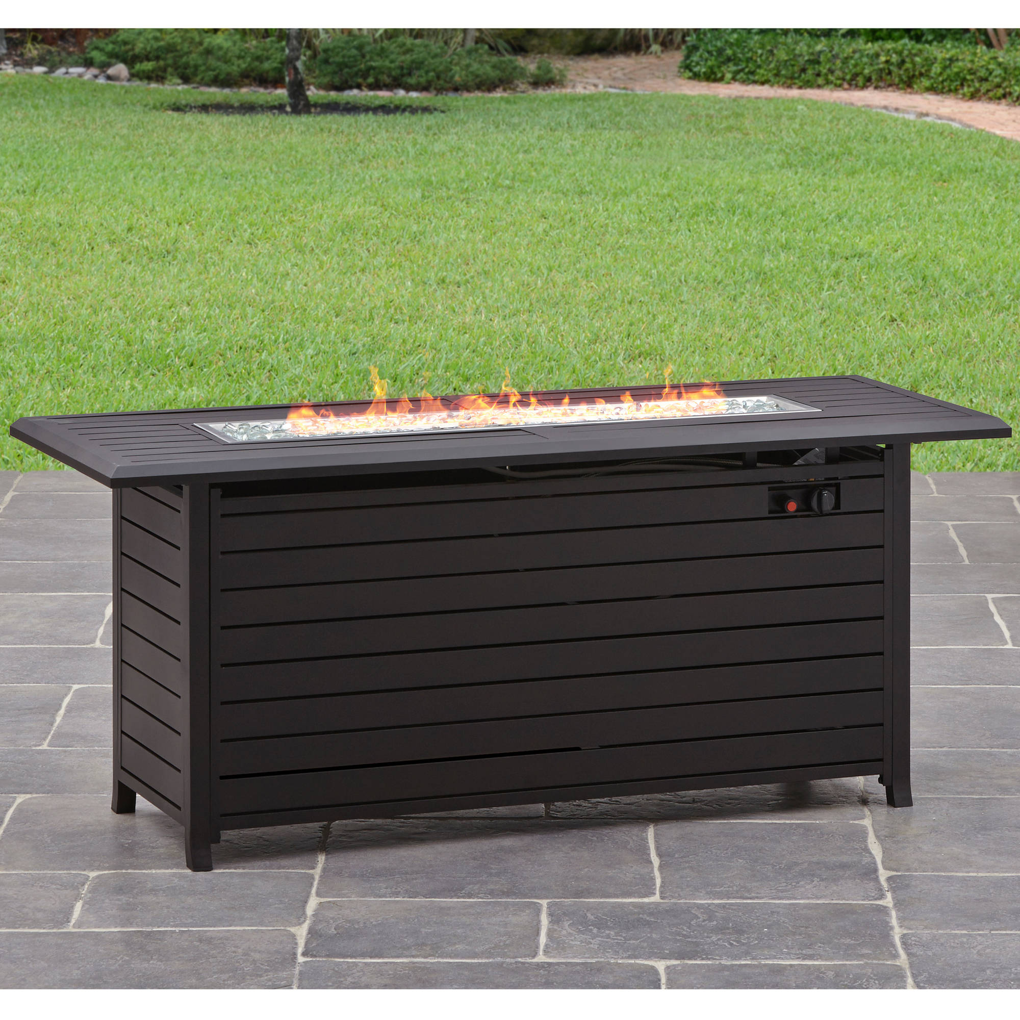 Better Homes And Gardens Carter Hills 57 Gas Fire Pit Walmart Com Walmart Com
