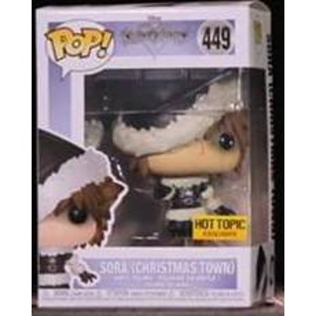 Funko POP!Disney: Kingdom Hearts - Sora (Christmas Town) exclusive #449
