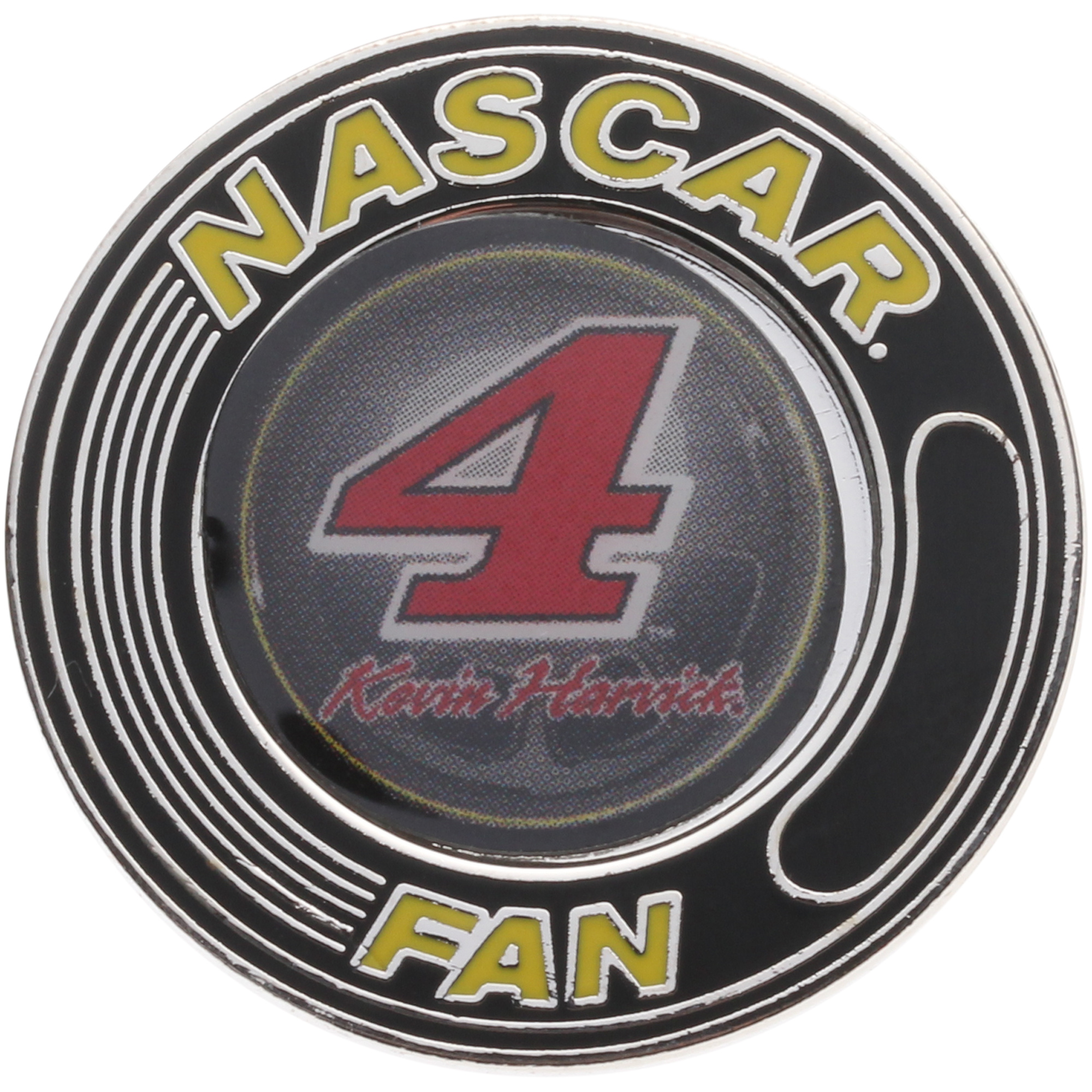 Kevin Harvick WinCraft Hard Insert Red Number NASCAR Fan Pin - No Size