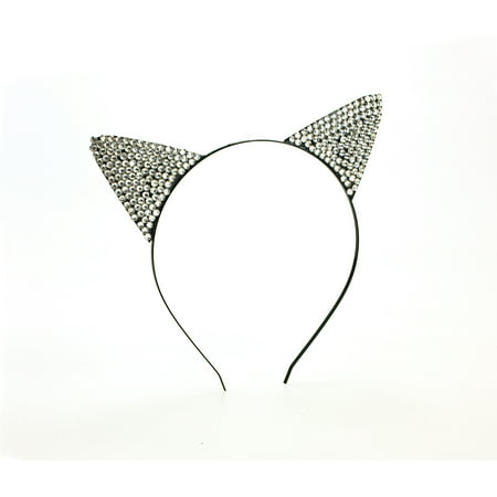 Rhinestone Cat Ears Halloween Accessory](Halloween Makeup Ideas For A Cat)