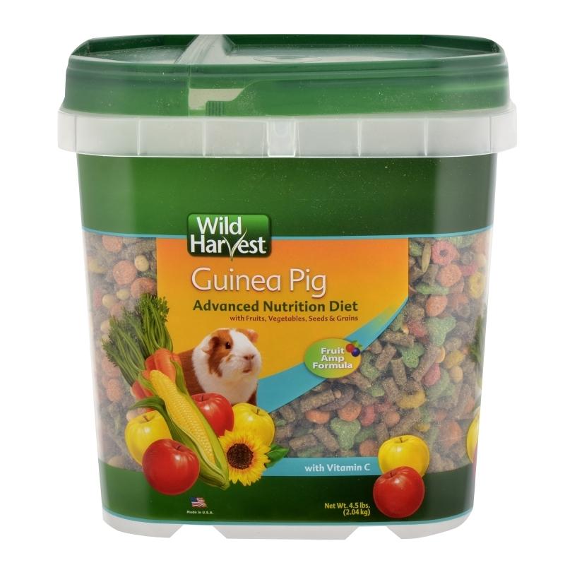 Wild Harvest Advanced Nutrition Diet for Guinea Pigs, 4-Pounds